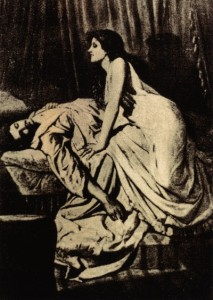 Le Vampire by Philip Burne Jones