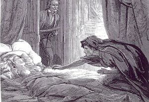 Image from the vampire novel Carmilla