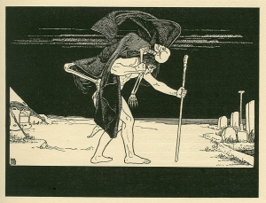Dybbuk by Ephraim Moses Lilien