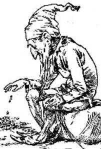 Leprechaun Engraving c. 1900