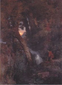 Will-o'-the-wisp by Arnold Böcklin