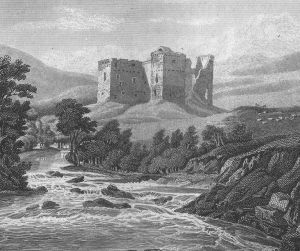Hermitage Castle in 1814