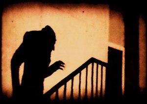 Scene from F.R. Murnau's Nosferatu