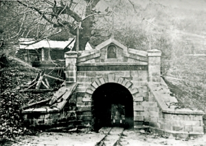 An Old Mine Entrance, 1887