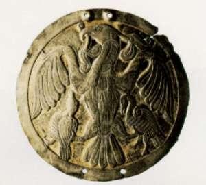 A Medieval Turul Badge