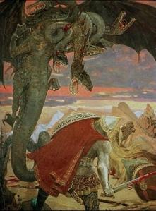 Zmey Gorynych by Viktor Vasnetsov (1918)