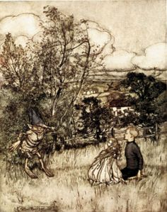 Puck of Pook's Hill by Arthur Rackham (1905)