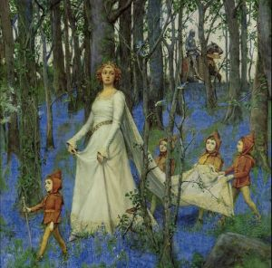 The Fairy Wood by Henry Meynell Rheam (1903)