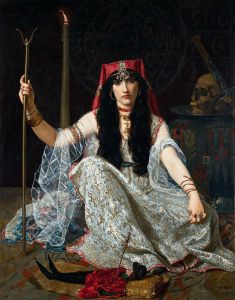 The Sorceress, Georges Merle (1882)