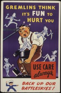 WWII propaganda poster, circa 1942