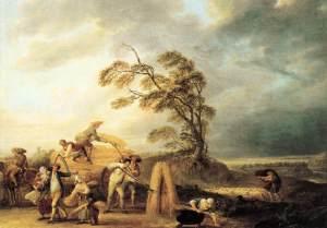 Francois-Louis-Joseph Watteau, The Storm