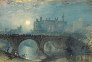 Alnwick Castle by J.M.W. Turner (1829)