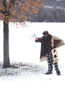 A Modern Belsnickel (attribution in link)