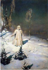 Snow Maiden, Victor Vasnetsov (1899)