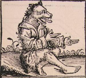 Cynocephalus, Hartmann Schedel (1493)