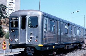 C5 Model Subway Car