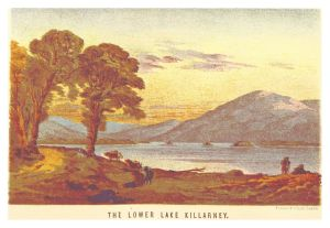 Godkin & Walker, The Lower Lake Killarney (1871)