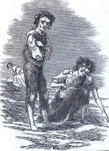 The Scene at Skibbereen, James Mahony, 1847