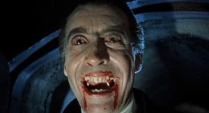 Christoper Lee in Dracula (1958)